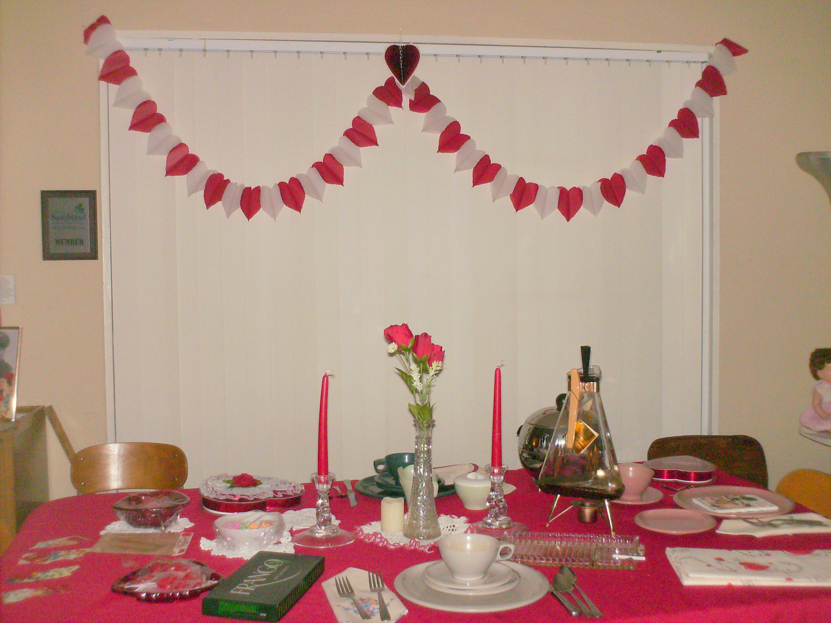 Dining Room table, 1950s Museum in February